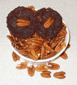 Low Carb Chocolate Pecan Disks