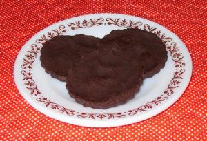 Low Carb Chocolate Disks