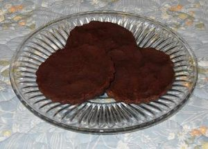 Low Carb Orange Chocolate Disks