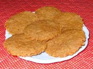 Orange Spice Flax Cookies