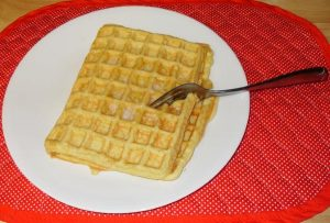 Low Carb Rich Waffle