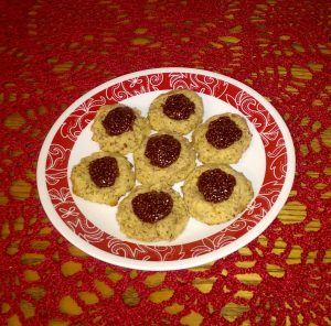 Low Carb Thumbprint Cookies